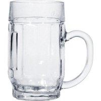 Sklenice na pivo Džbán cejch 0,5 l s uchem Donau Stulzle-oberglas